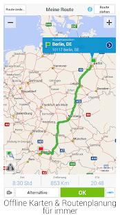 CoPilot GPS - Navi-App – Miniaturansicht des Screenshots