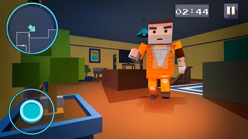 Mystery Neighbor - Cube House screenshot 2