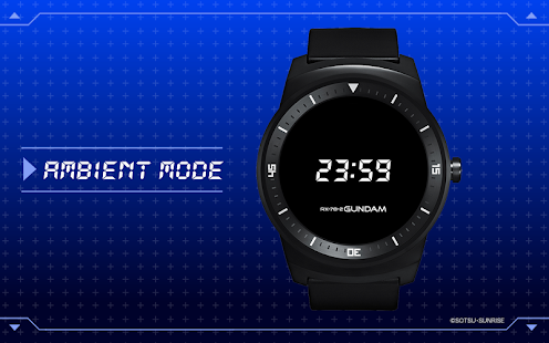 Gundam RX-78-2 Watch face- screenshot thumbnail