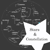 constellation star sky map