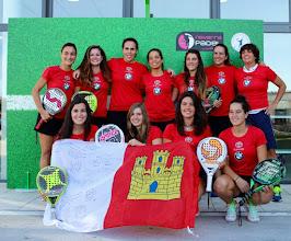 Photo: Selección #pádel Castilla Mancha