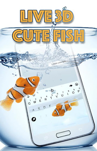 Animated Cute Fish Keyboard Theme 6.2.22.2019 app download 1