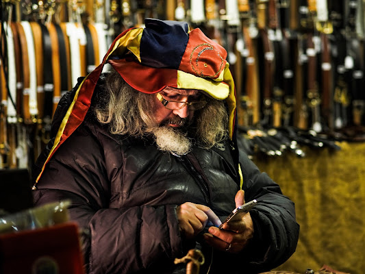Venditore di cinture di boomerang