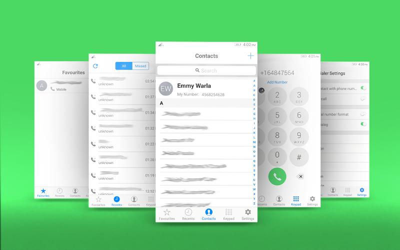Download i Dialer OS 10 - Contact Book APK latest version