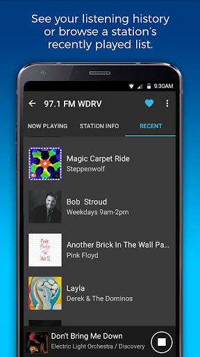 NextRadio Free Live FM Radio 5.0.2351-release screenshots 8