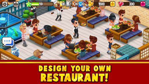 Food Street - Restaurant Management & Food Game 0.42.7 APK MOD screenshots 1
