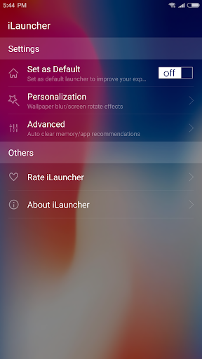 iLauncher for OS 11 - Stylish Theme and Wallpaper 2.4.2 Screenshots 8