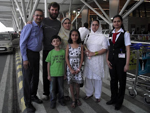 Photo: 20. Delhi Airport - Friend Naved with all family