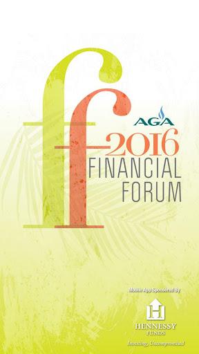 AGA Financial Forum