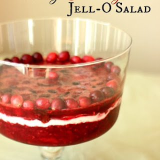 3 Berry Cranberry Jell-O Salad