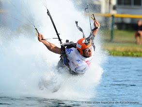 Photo: Eric Philippe aux Championnats du Monde de Pilotage sous Voile 2014, Zephyr Hills (USA)