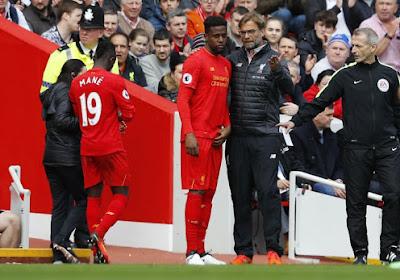 Liverpool-aanvaller out voor de rest van het seizoen, kans voor Origi?