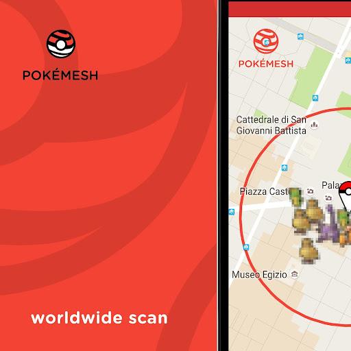 免費下載冒險APP|PokéMesh - Real time map app開箱文|APP開箱王