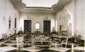 Photo: Jardim de Inverno do Palácio Quitandinha. Foto de Frank Scherschel