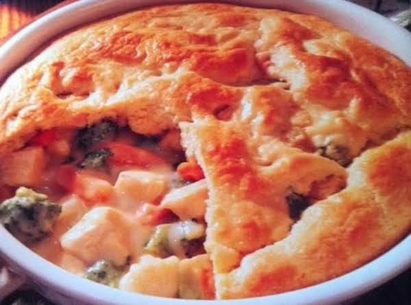No- Guilt Chicken Pot Pie
