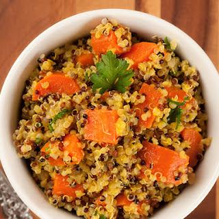 Orange-Spiced Carrots and Quinoa