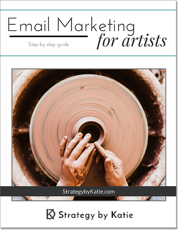 Get your Free Email Marketing for Artists workbook