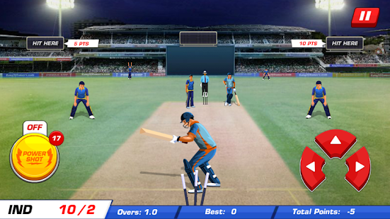 Power Cricket T20 Cup 2016- screenshot thumbnail