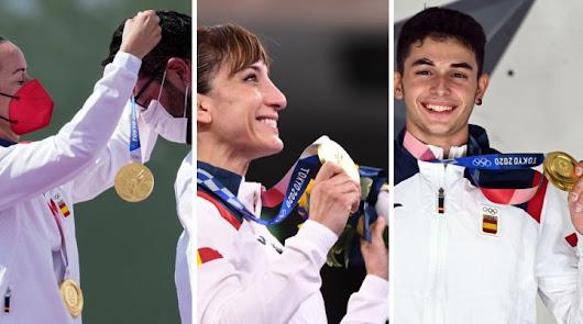 España cierra los Juegos con 17 medallas, igual que en Río