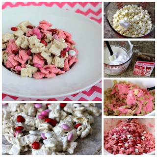 STRAWBERRY VALENTINE CHEX MIX