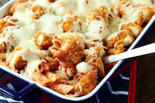 "Chicken Parmesan Bake ""The first is this absolutely delicious and crazy easy..."