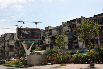 Photo: Year 2 Day 35 - Some Housing in Phnom Penh