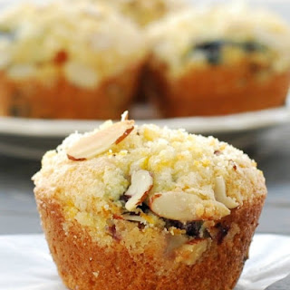 Orange Blueberry Muffins with Crumb Topping Recipe