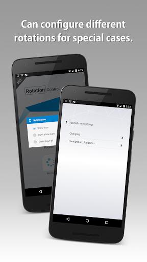 Screenshot for Rotation Control Pro in Hong Kong Play Store