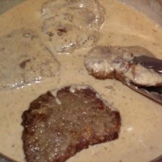 Southern Steak and Milk Gravy.