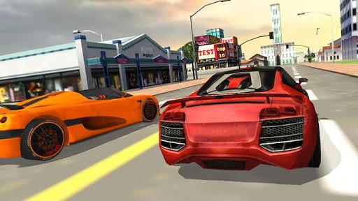 Police Car Race Furious 3D