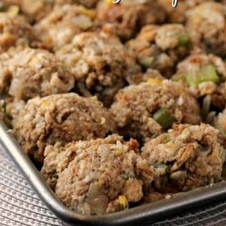 Make Ahead Turkey Stuffing Recipe