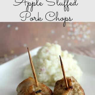 Apple Stuffed Pork Chops.