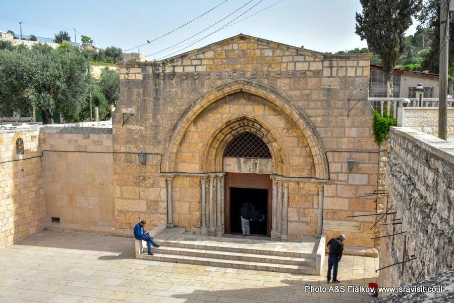 Гробница Богородицы в Гефсимании. Расположена у подножия западного склона Елеонской горы, в Кедронской долине, в Иерусалиме.