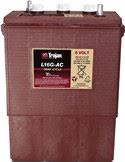 Trojan deep-cycle batteri 6V/390Ah L16GAC