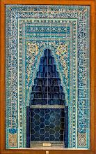 Photo: Mihrab (Mekka-Weiser)