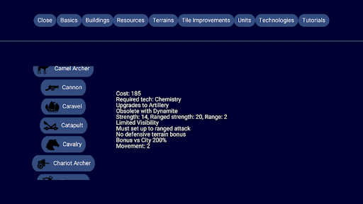 Capturas de pantalla de Unciv 8