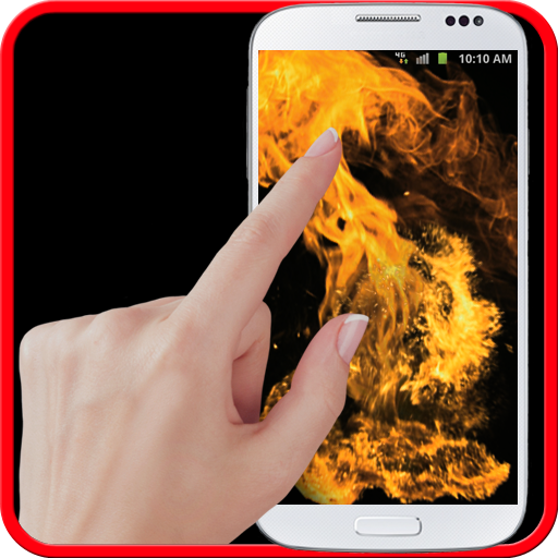 Fire screen simulator Icon