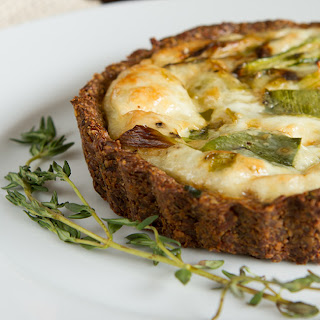 Paleo Quiche with a Nut-free + Grain-free Crust.
