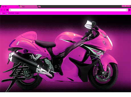 Hayabusa Pink