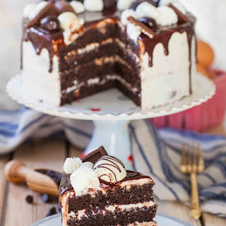 Ultimate Chocolate Sponge Cake.