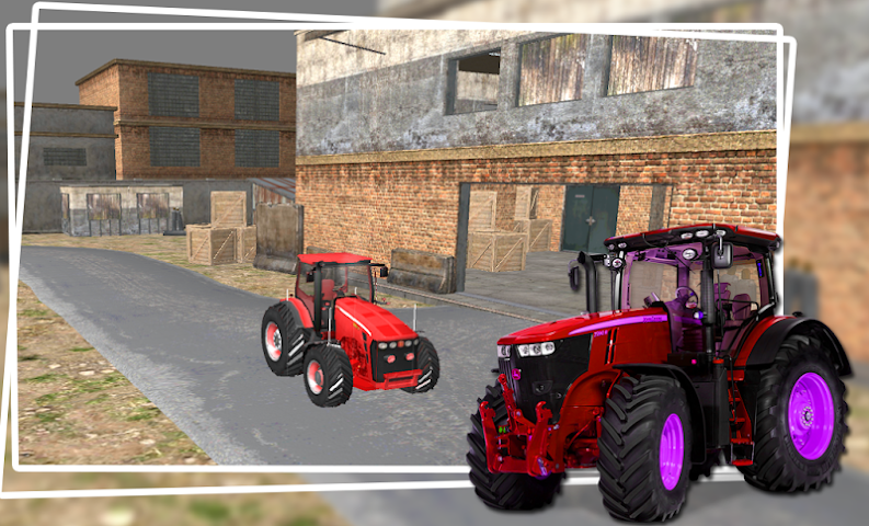 android Industrial Simulator Tractor Screenshot 0