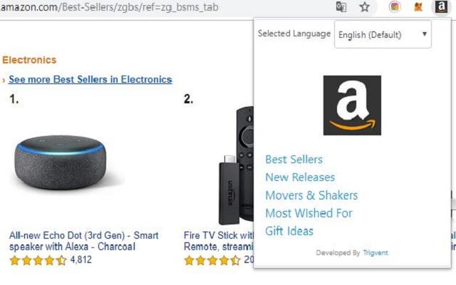 Amazon Bestseller