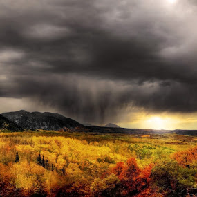 Impending Storm by Ron Azevedo - Landscapes Mountains & Hills