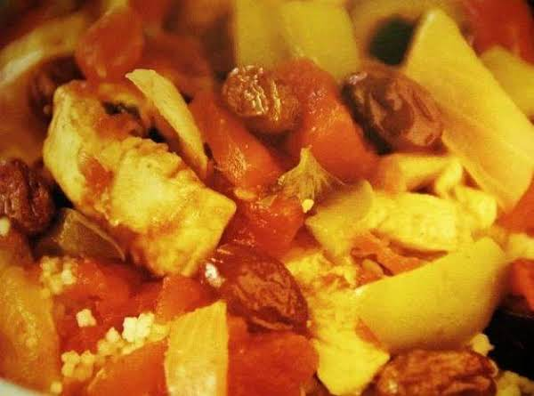 Moroccan Chicken Stew With Couscous Recipe