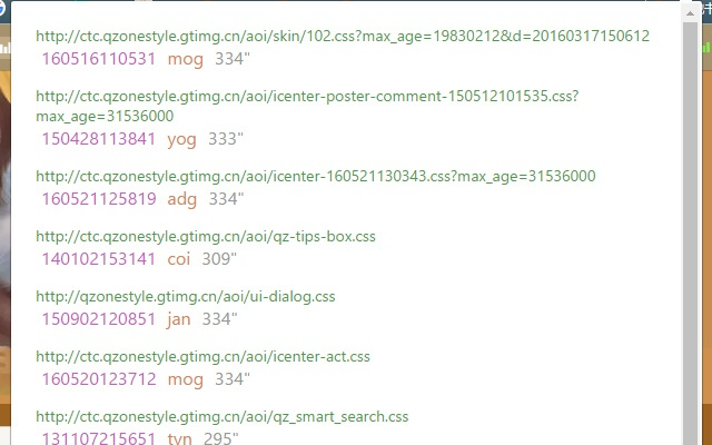 CSS version