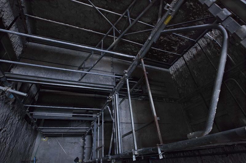 luci e ombre nel cavedio di Lucabanchini