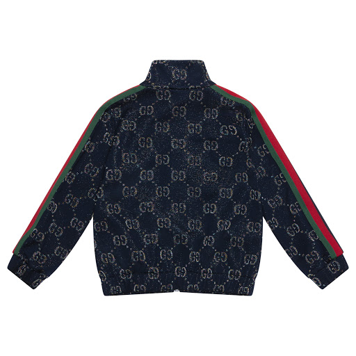 Thumbnail images of Gucci Glitter Logo Top