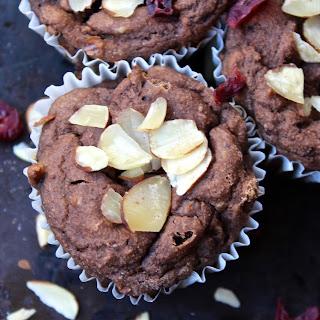 Gluten-Free Mocha Cranberry Muffins