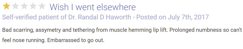Dr. Randal Haworth review