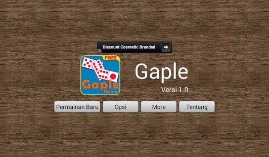 play Gaple on pc & mac